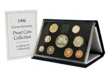 1996 Proof set Blue standard